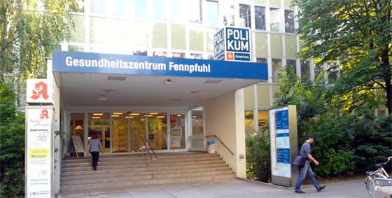 Frauenarztpraxis Dr. Völker im Gesundheitszentrum Fennpfuhl, Berlin Lichtenberg